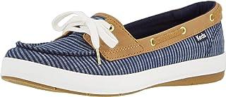 حذاء رياضي Keds Women's Charter Stripe للسيدات، أزرق داكن، 6 M US