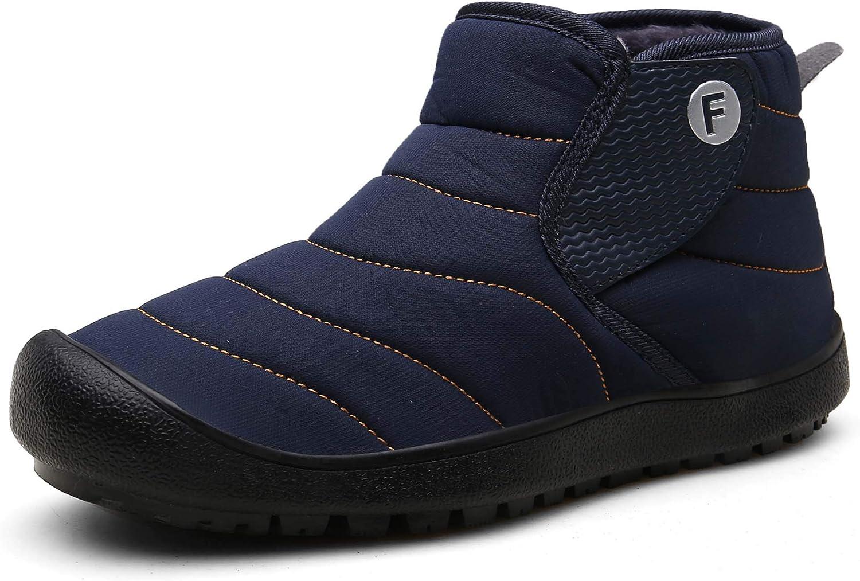 Winter Snow Ankle Boots Fur Lining Bo Award Waterproof On Slip Outdoor Washington Mall