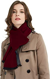 CUDDLE DREAMS Women's Silk Scarves for Winter, 100% Mulberry Silk Brushed, Luxuriously Soft & Warm