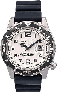 ساعة معصم M50 للرجال من مومنتوم | مقاومة للماء 500 م / 1650 قدم | كريستال الياقوت الأزرق | فائقة المتانة