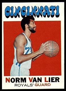 Basketball NBA 1971-72 Topps #19 Norm Van Lier EX/NM