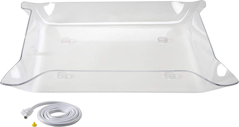 Glo Ice Small Clear Tray 30 X 30 Side Drain