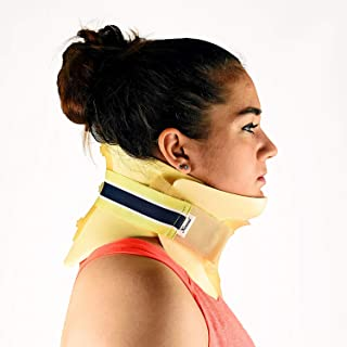 Dr. Franklyn's Cervical Collar Stiff Neck Pain Brace - Universal Waterproof Immobilizer Spine Pain & Pressure Relief - One Size Fits All