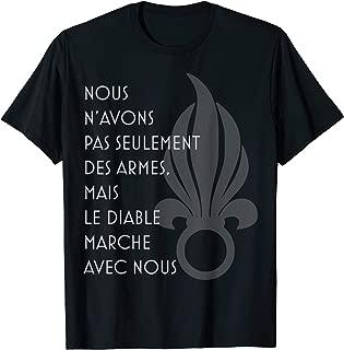 Chant du diable, foreign legion song verse T-Shirt