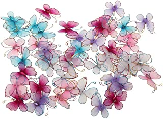 FENICAL Gemischte Farbe Strumpf Schmetterlinge Hochzeit Party Dekor