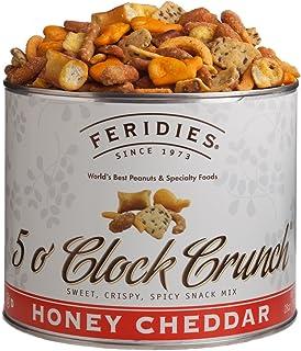 FERIDIES Honey Cheddar 5 o'Clock Crunch Snack Mix - 28oz Can
