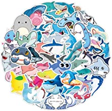 Shark Girls Vinyl Bumper Sticker Pack