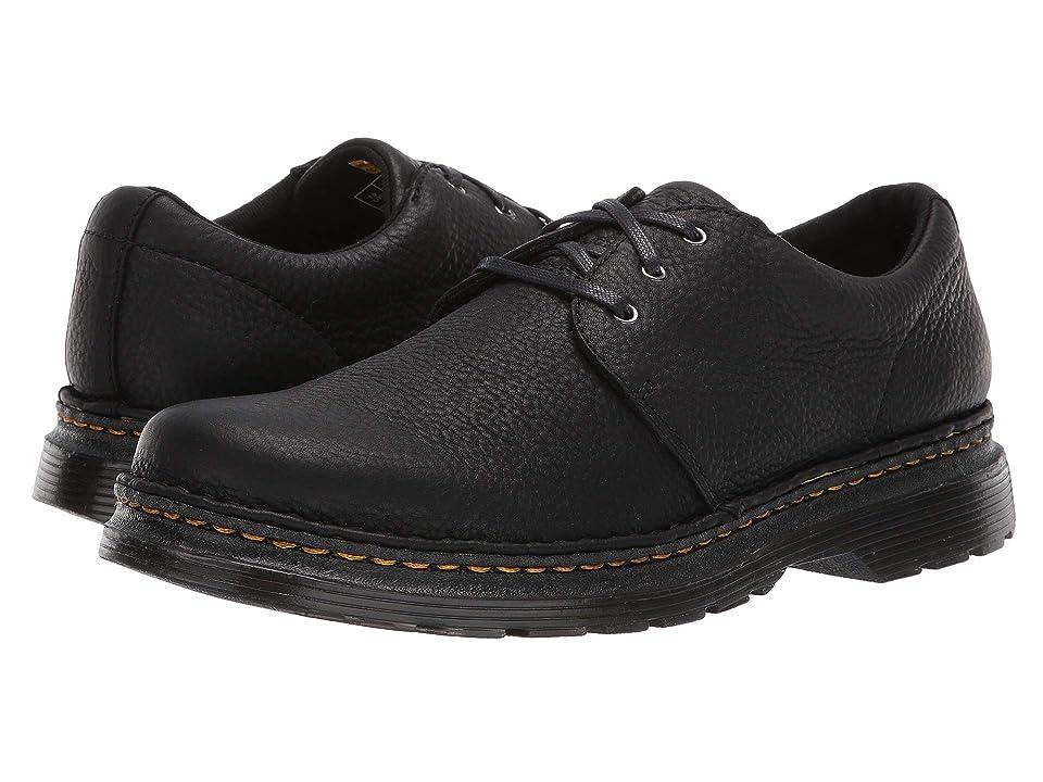 Dr. Martens Hazeldon 3-Tie Shoe (Black Grizzly) Men