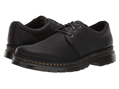 Dr. Martens Hazeldon 3-Tie Shoe (Black Grizzly) Men