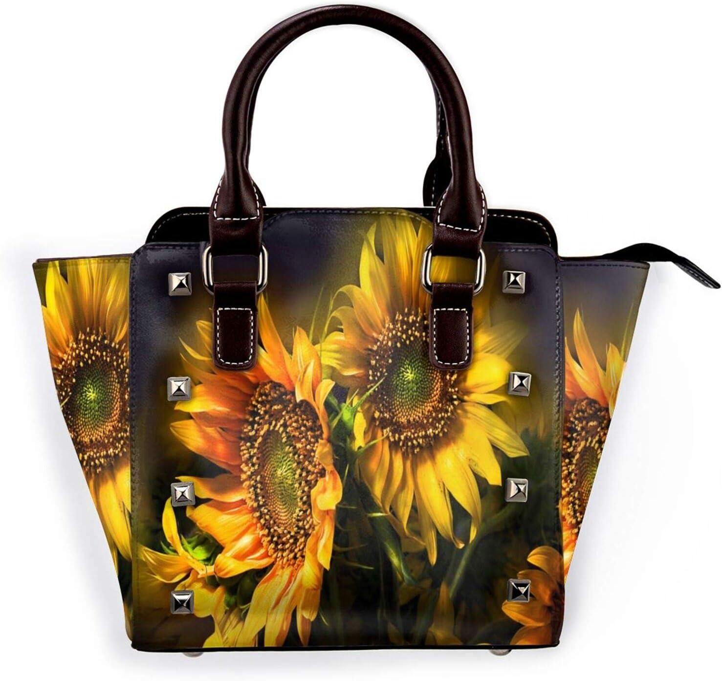 Tote Bag Deluxe Sunflowers Bouquets Waterproof Han Low price Durable Shoulder