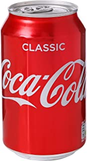 Coca Cola Coke Soft Drink Can 330ml Ref A00768 Pack 24