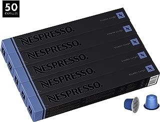 Nespresso Vivalto Lungo OriginalLine Capsules, 50 Count Espresso Pods, Intensity 4 Blend, Fruity South American & Ethopian Arabica Coffee Flavors