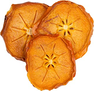 Bella Viva Orchards Natural Dried Persimmons, Sweet no Sugar Added, 1 lb of Dried Fruit