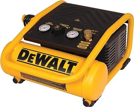 DEWALT Air Compressor, 135-PSI Max, 1 Gallon (D55140) , Yellow: image