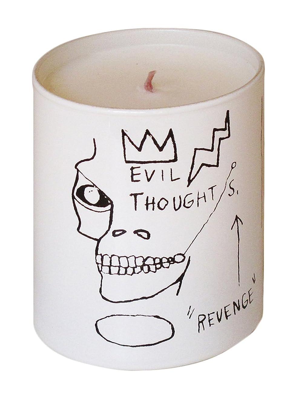 失業者破壊するイデオロギージャン ミシェル バスキア リベンジ キャンドル(Jean-Michael Basquiat Perfumed Candle
