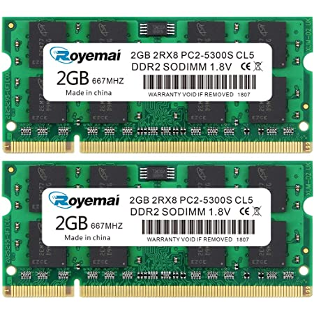 VGNBX760NS4 2x4GB RAM Memory Upgrade Kit for The Sony VAIO VGN BX760 DDR2-667 8GB PC2-5300