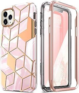 Popshine Marble Series Designed for Apple iPhone 11 Pro Case, Premium Hybrid Slim Stylish Full Body Protective Flexible TP...