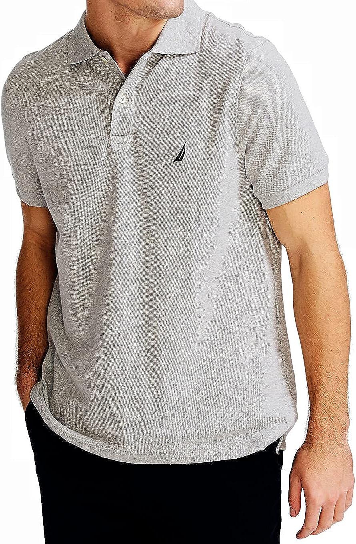 Nautica Men's Solid Deck Short-Sleeve Polo Shirt