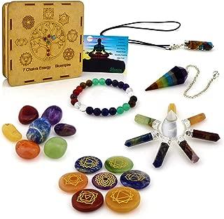 Best chakra healing stone set Reviews