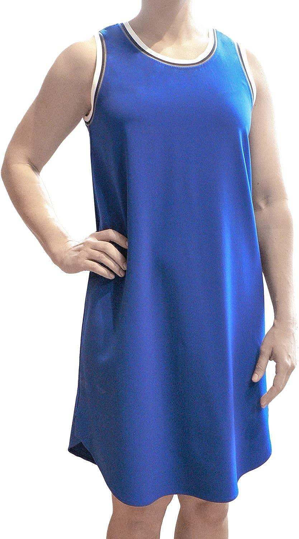 ABS Allen Schwartz Women's Fashion Sleeveless TShirt Dress Black