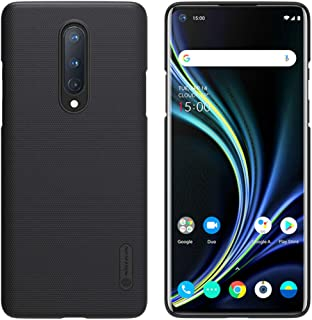 Nillkin Oneplus 8 Case, Super Frosted Shield Series Anti-Slip Hard Back Cover Case for Oneplus 8 (1+8) [Black Color] By Ni...