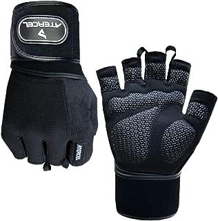 weight gloves with wrist straps