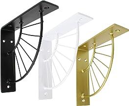2x Natural Goods Berlin   Plankhouders zonneallee   Design plankdrager wandplank planksteun metalen console draad   hangre...