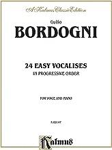 Twenty-four Easy Vocalises in Progressive Order (Kalmus Edition)