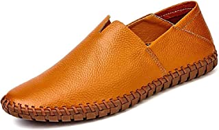 Go Tour Men's Classy Slip-On Casual Mocassin Leather Loafers The Go Driving Boat Shoes