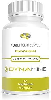 Pure Nootropics - Dynamine (Methylliberine: 1,7,9-tetramethyluric Acid) 100 mg Capsules (90)   Increased Energy, Focus & A...