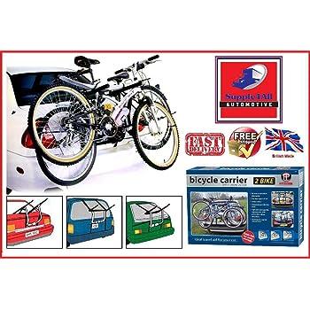 Honda Civic 2001-2006 2 Double Rear Bicycle Bike Car CycleCarrier Rack
