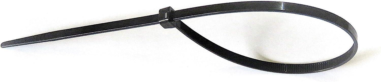 50 colliers de serrage 142 x 3,2 mm 15 longueurs disponibles au choix Blanc ou Noir