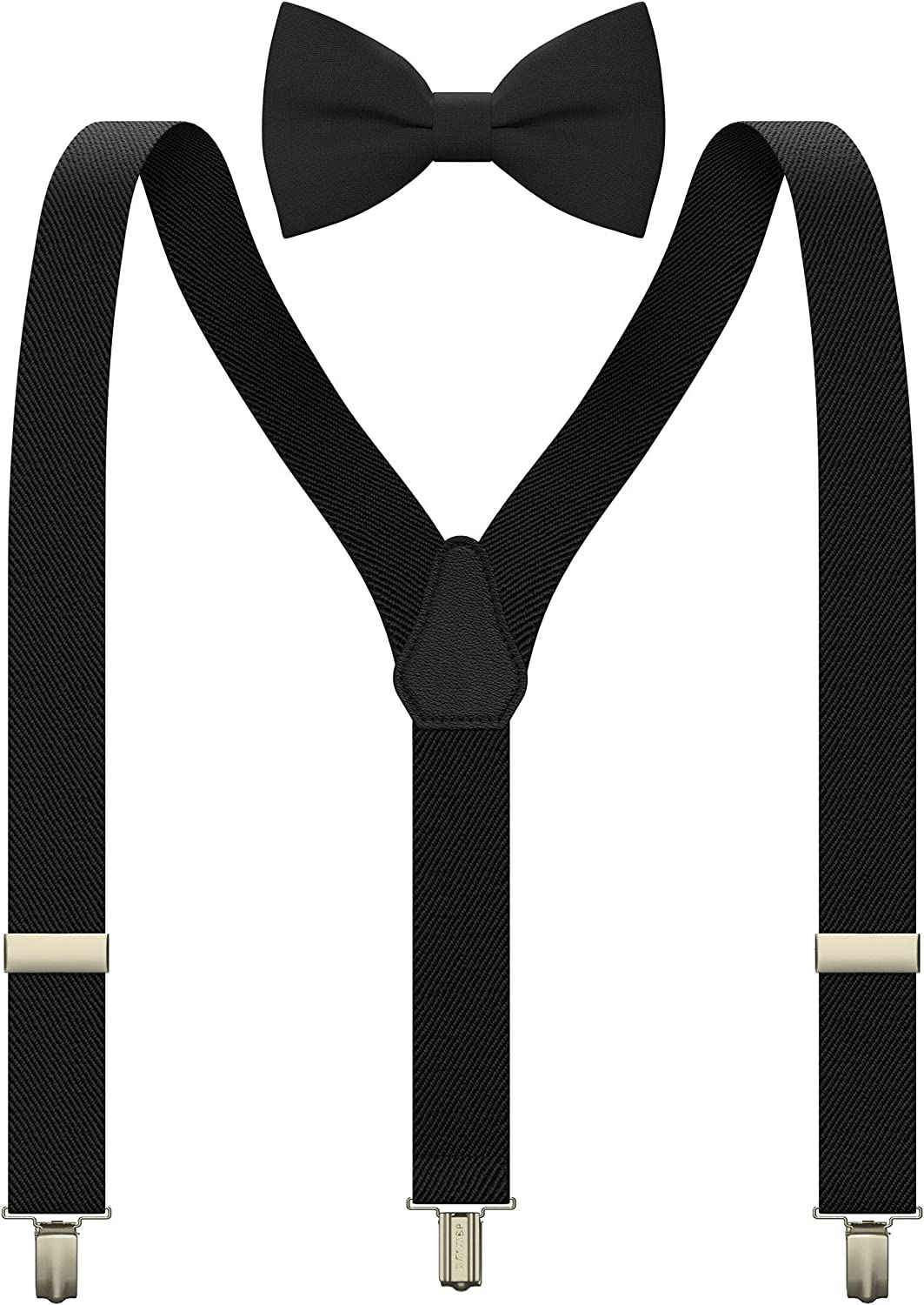 Kids Suspenders Set with a bow tie for babies, toddlers boys girls by Bow Tie House