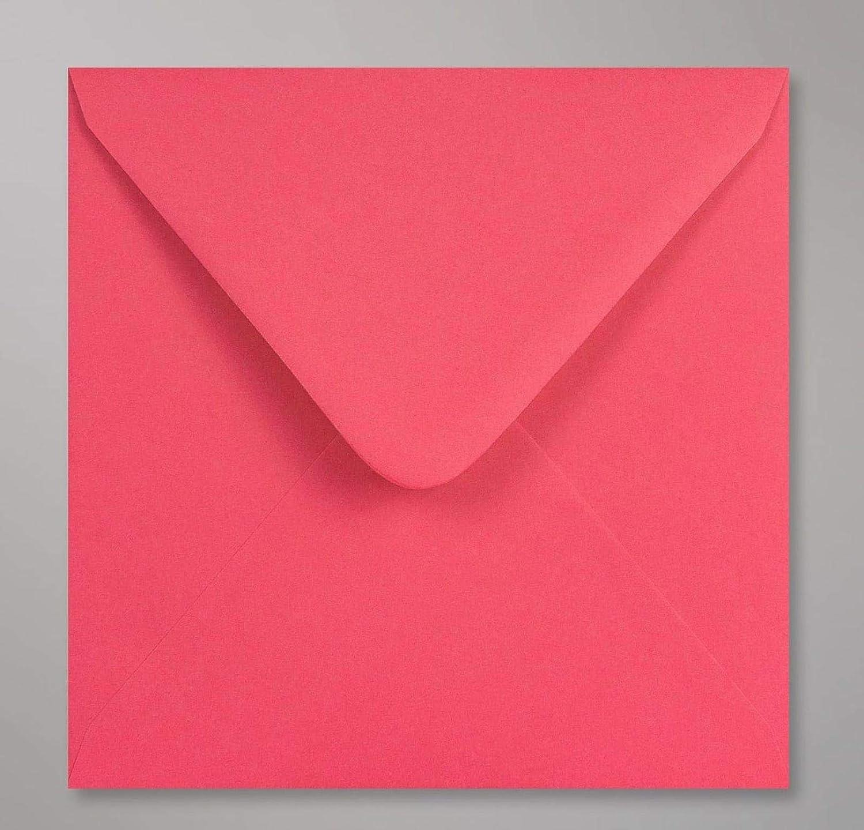 100 Briefumschläge, Rosa, 15.5 15.5 15.5 x 15,5 cm, für Hochzeit, KuGrün B07NRVQ69W | eine breite Palette von Produkten  b8524f