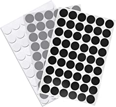 21mm zelfklevende schroefdeksel caps stok op meubels sticker schroef gat, getextureerde kunststof schroef gat covers stick...