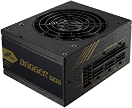 FSP Dagger Pro 650W Mini ITX Solution/SFX 12V / Micro ATX 80 Plus Gold Certified Full Modular VR / 4K Ready Gaming Power S...