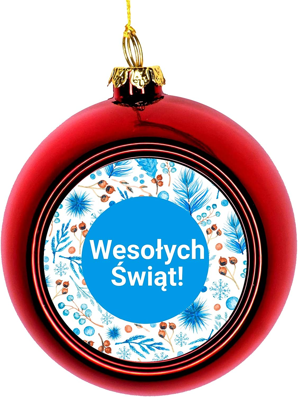Lea Elliot Inc. Polish Poland Merry latest Wesołych Same day shipping Christmas Świąt