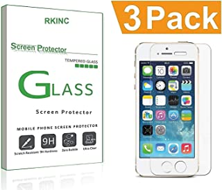 For iPhone 8 7 6S 6 Screen Protector Glass, RKINC iPhone 7 Tempered Glass Screen Protector For Apple iPhone 7 [3D Touch Compatible] , iPhone 6S, iPhone 6 2016, 2015 (3-Pack)