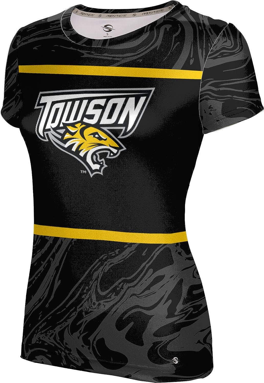 ProSphere Towson University Girls' Performance T-Shirt (Ripple)