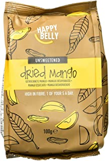 comprar comparacion Marca Amazon - Happy Belly Mango deshidratado, 7 x 100 g