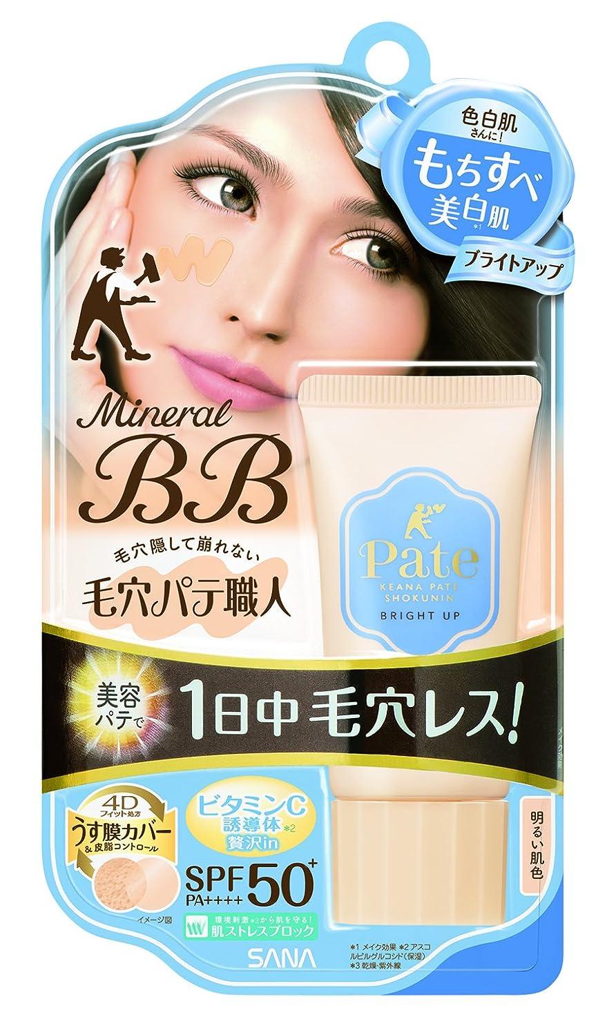 調べる望ましい情熱的毛穴パテ職人 ミネラルBBクリーム ブライトアップ 明るい肌色 30g