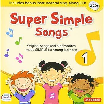 スーパーシンプルラーニング(Super Simple Learning) スーパーシンプルソングス 1 第2版 CD 2枚セット 子ども えいご