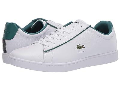 Lacoste Carnaby Evo 120 2 (White/Green) Men