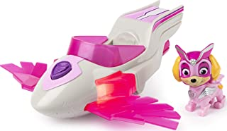 Paw Patrol, Mighty Pups Super Paws Skye's Deluxe Vehicle with Lights and Sounds
