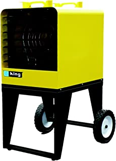 King PKB4810-3 10-Kilowatt 480-Volt Three Phase Portable Unit Heater