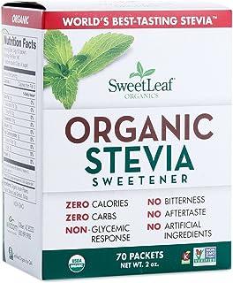 Sweet Leaf Sweetener Sweeteners Organic Stevia Sweeteners 70 packets (a) - 2pc