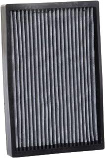 K&N Premium Kabinenluftfilter: Hochleistung, waschbar, sauberer Luftstrom zu Ihrer Kabine: Entwickelt für Select 2014 2018 Maserati (Ghibli, Levante, Quattroporte), VF2067