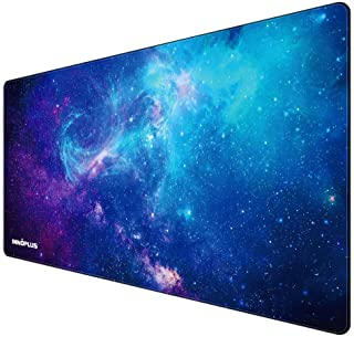 Gaming Mouse Pad, Large Mouse Pad XL, Mouse Pads for Computers 31.5×15.75In, Large Extended Gaming Keyboard Mouse Pads, Bi...