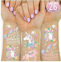 Best unicorn temporary face tattoos Reviews