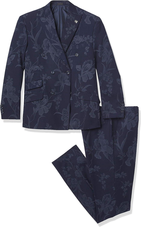 STACY ADAMS Men's 2 Pc. Slim Fit Suit